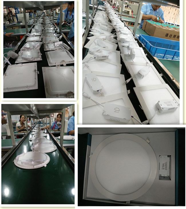 6W 9W 12W 18W Slim LED Panel Round Light