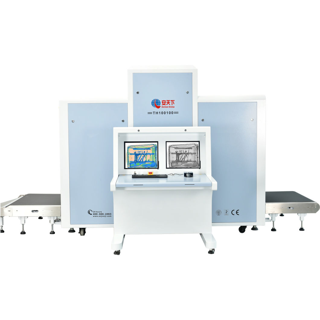Xray Baggage Scanning Equipment, X-ray Parcle Scanner for Checking Luggage