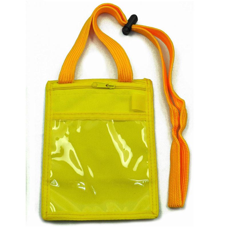 70d Polyester Holder Badge Bag with Lanyard