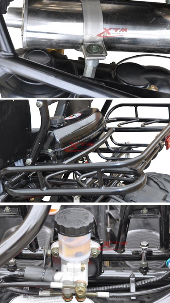 X'mas Gift Outdoor 2 Seat Power 150cc Engine Go Kart