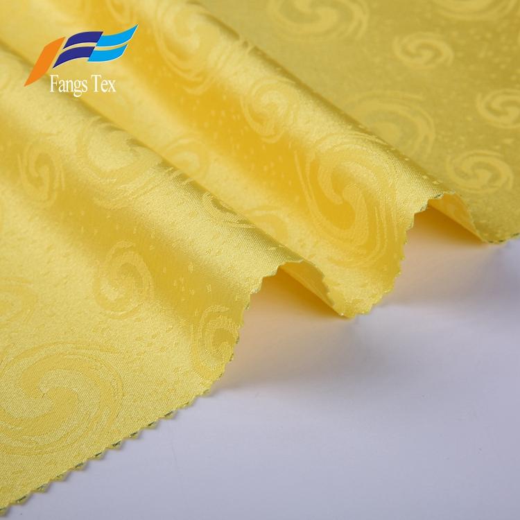 Breathable Polyester Jacquard Women Plain Garment Fabric 1