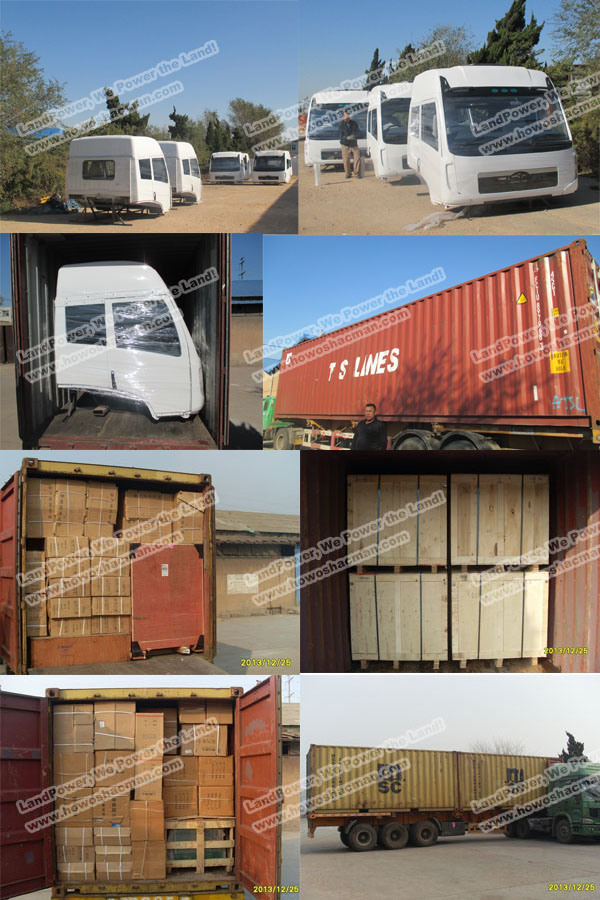 Original FAW Spare Parts Auto Parts with SGS Certification (5301021-E01 Truck Front Panel)