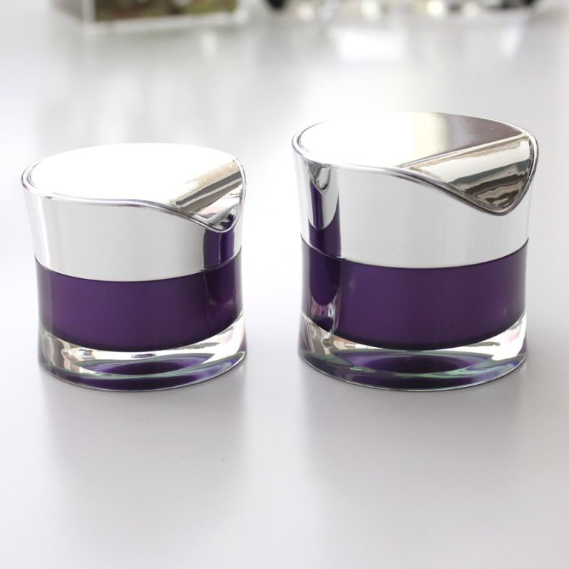 30g 50g Special Slim Waist Cream Plastic Cosmetic Mason Jar