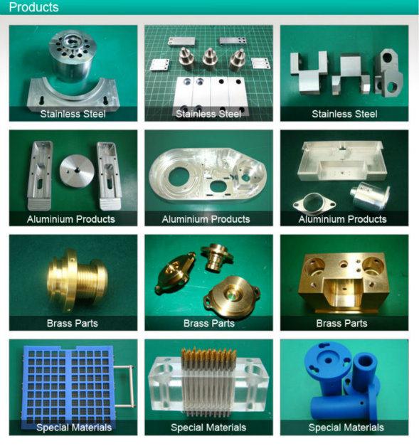 Precision Aluminum CNC Machined Anodized Parts