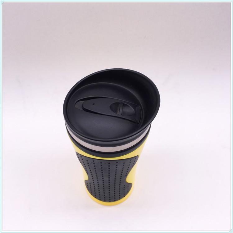 2016 New Design Single Wall Plastic Advertising Mug (SH-PM21)