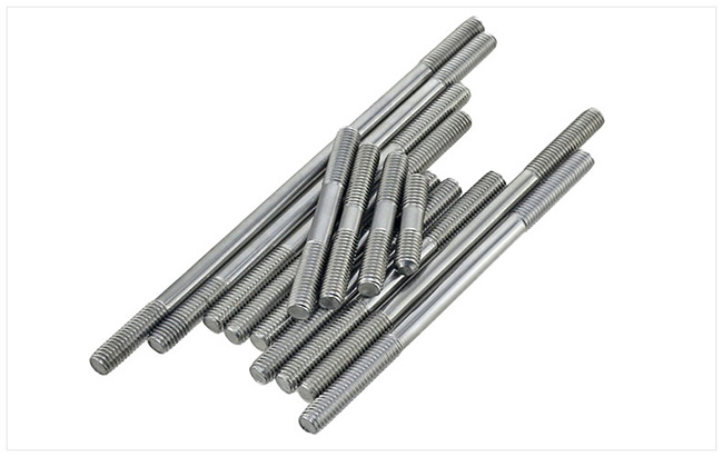 Double End Stud Bolt Made of Stainless Steel A2-70
