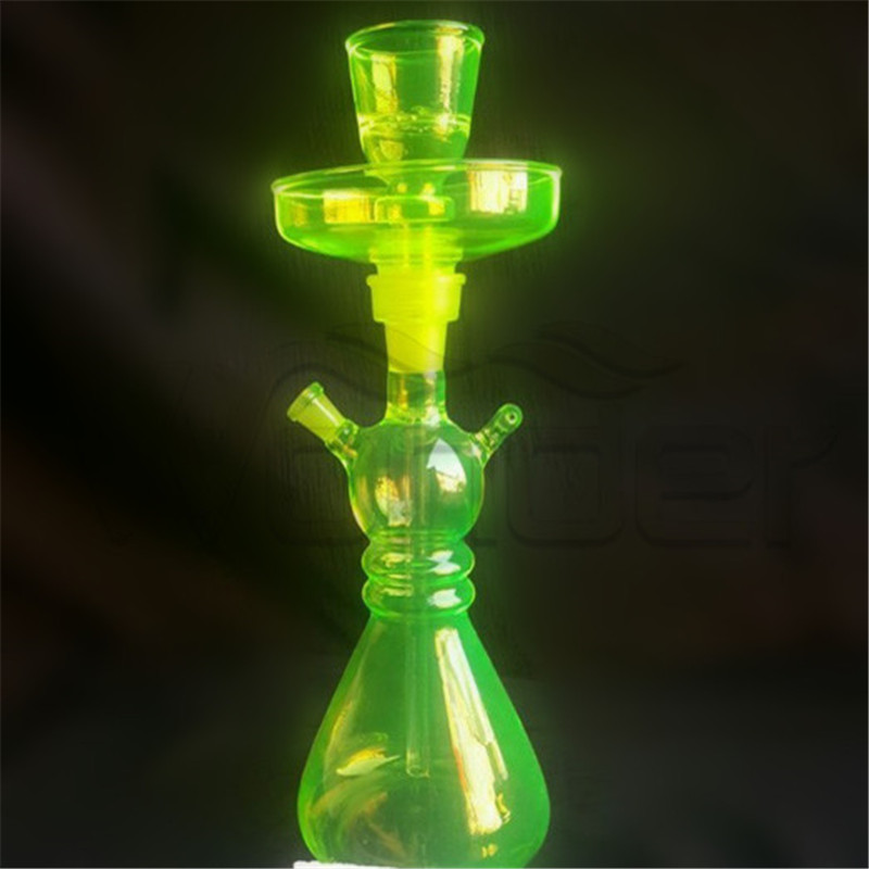 Hookah Pipe Smoking Green Color in Stock Sale