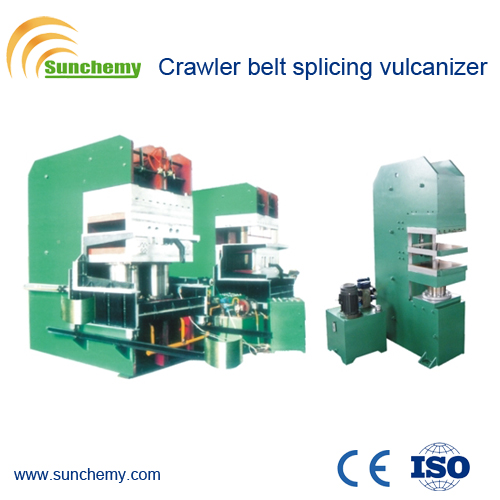 Top Qualified Rubber Crawler Belt Splicing Press