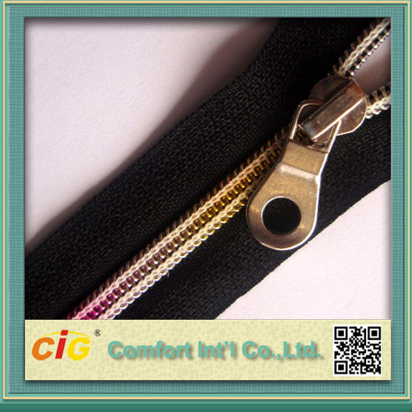 Fashion Invisible Nylon Zipper for Garment