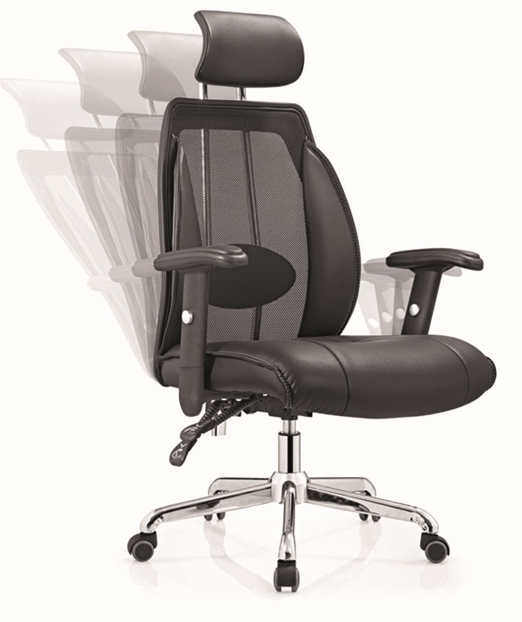 High Back Swivel Manager Office Boss Lounge Headrest Executive Chair