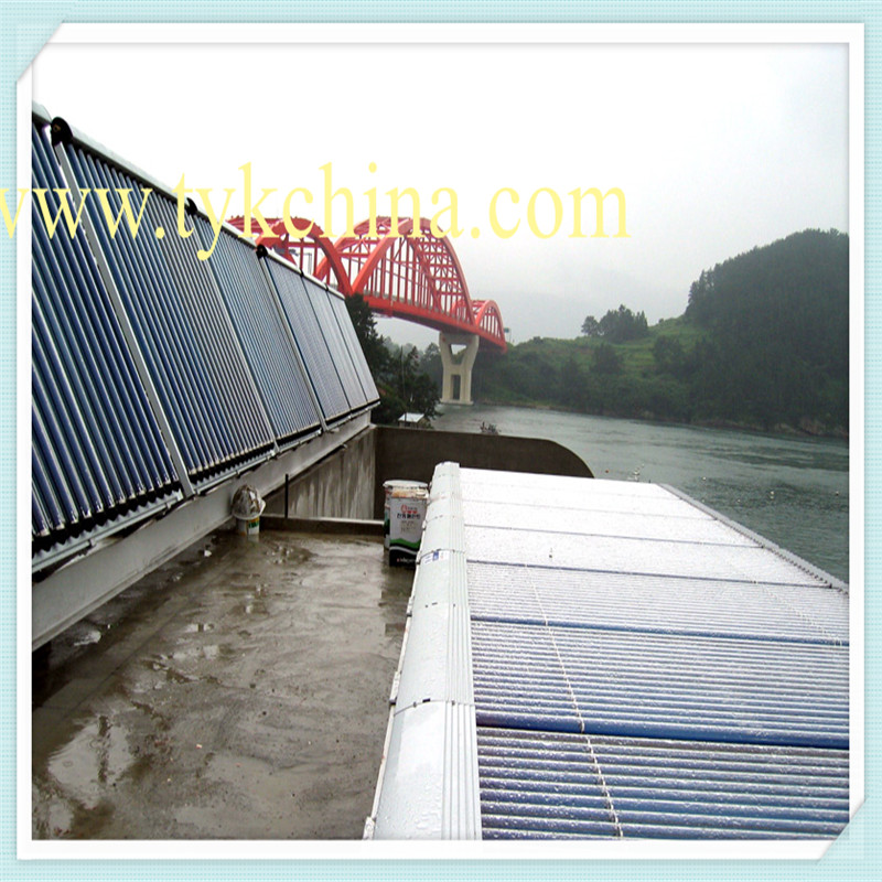 Cooper Heat Pipe Solar Collector