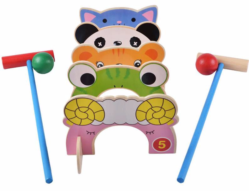 kids children gate ball set gift