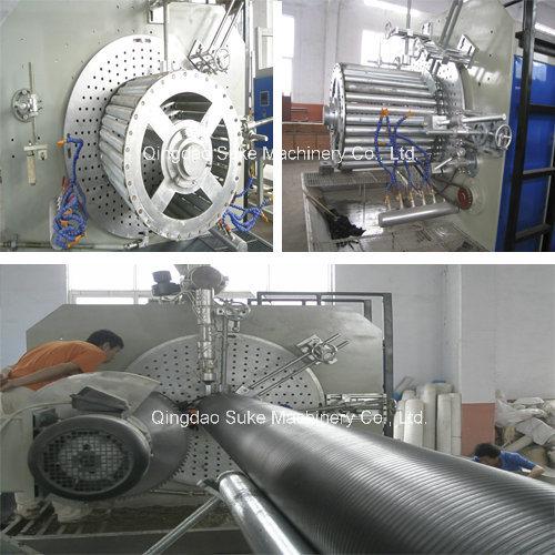 PE Plastic Steel Winding Pipe Extrusion Making Machine