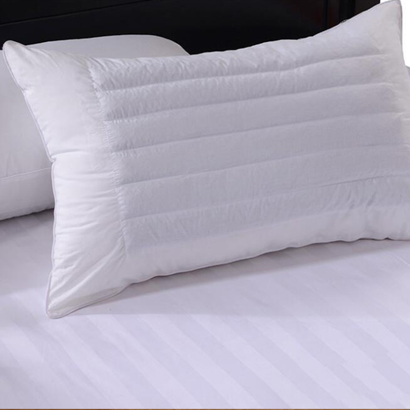 White Color Hotel Buckwheat Pillow