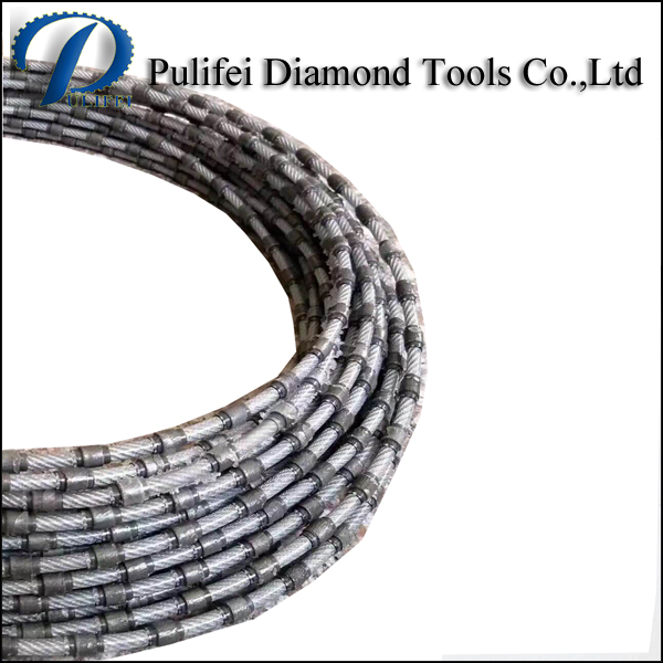 Abrasive Hand Cutting Tools Wire Saw for Stone Quarry