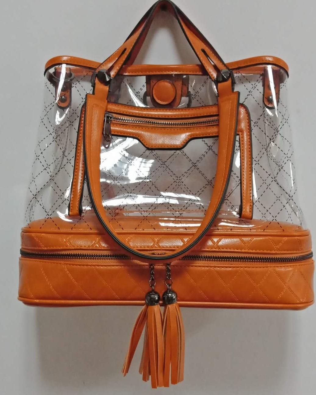 Lady Handbag Fashion Transparent Bag Tassel Ladies Handbag Lady Hand Bags High Quality Replica Handbag Women Bag Ladies Hand Bags (WDL01230)