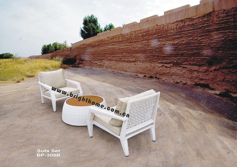 Outdoor PE Rattan Wicker Sofa Set Bp-308b