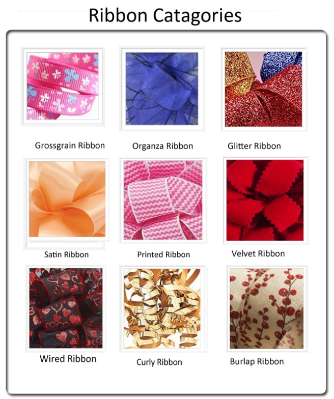 High Quality Stilk Ribbon/Floral Ribbon/Purple Ribbon for Gift Ribbon Wholesale