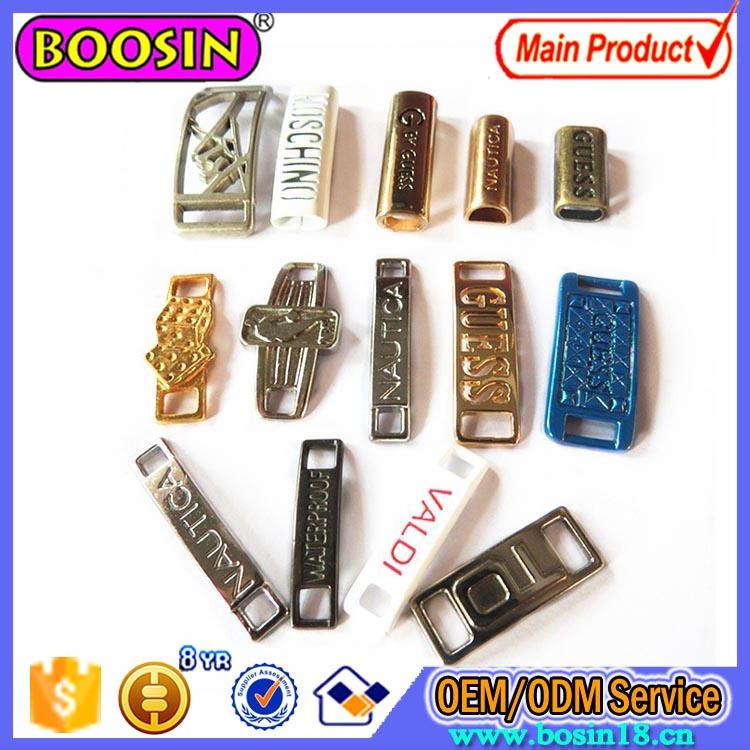 Custom Alloy Shoelace Charm, Metal Alloy Jewelry Charm Wholesale #B139