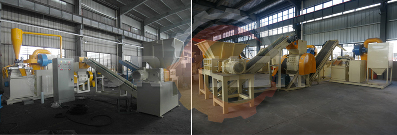 High Quality Ce Approved Copper Cable Shredder Machine