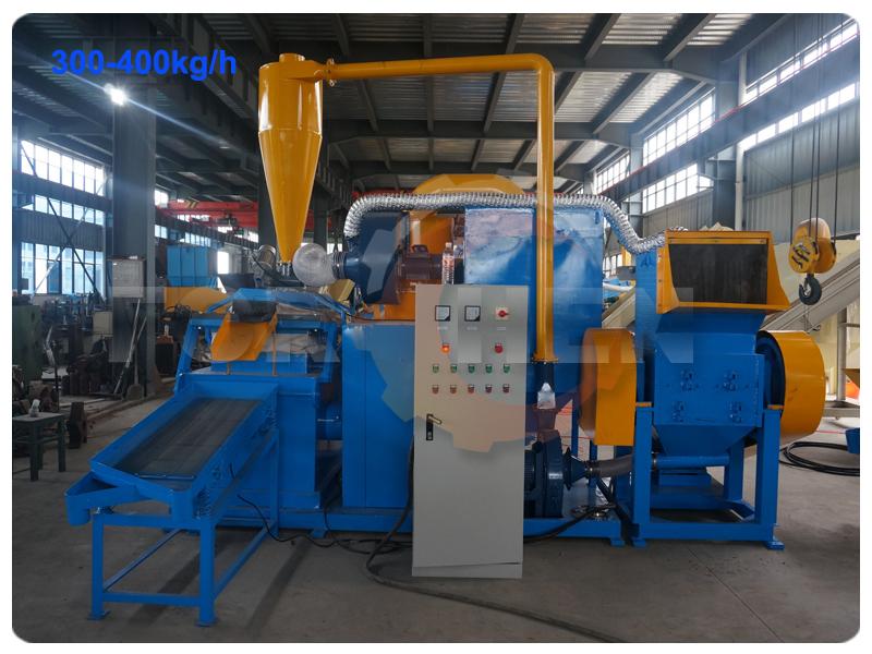 Hot Sale Scrap Copper Wire Granulator Separator Machine