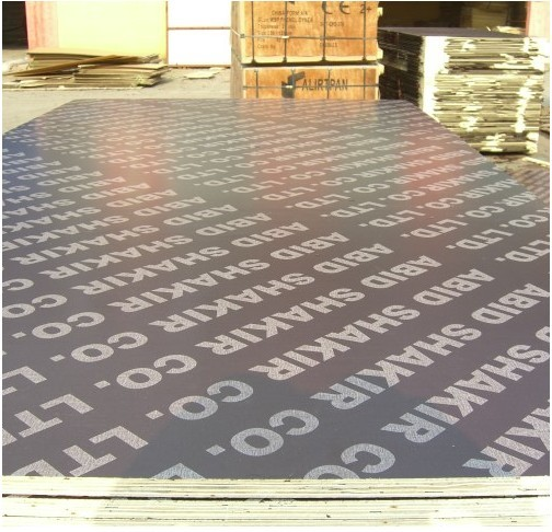 Printed Film Faced Plywoods with Logoes