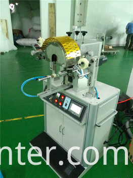 Bottle Cap Special Shape Hot Foil Stamping Machine
