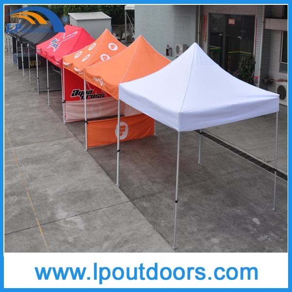 Customized Logo Hexagonal Metal Pop up Canopy Tent for Promotion Market Event