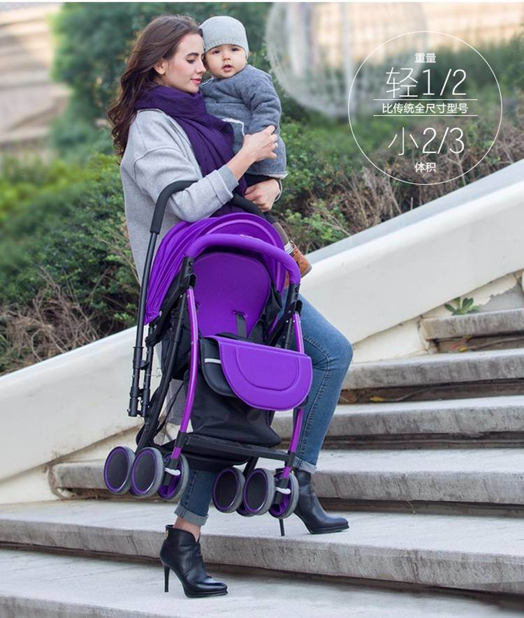 Folding Baby Pram with Light Weight