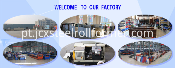 roll forming machine factory