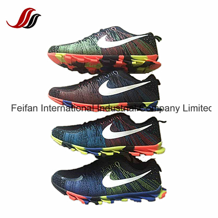 Latest Men's Flyknit Sport Shoes, Comfortable Casuale Shoes, Safety Running Shoes