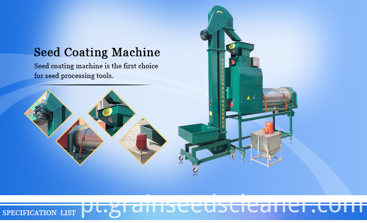seed coating machine