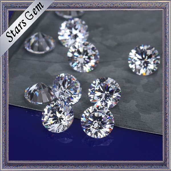 Hot Sale Size 8mm AAA Quality CZ Cubic Zirconia for Sale