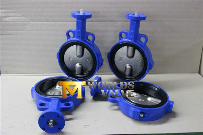 Hand Lever Butterfly Valve with Slim Disc