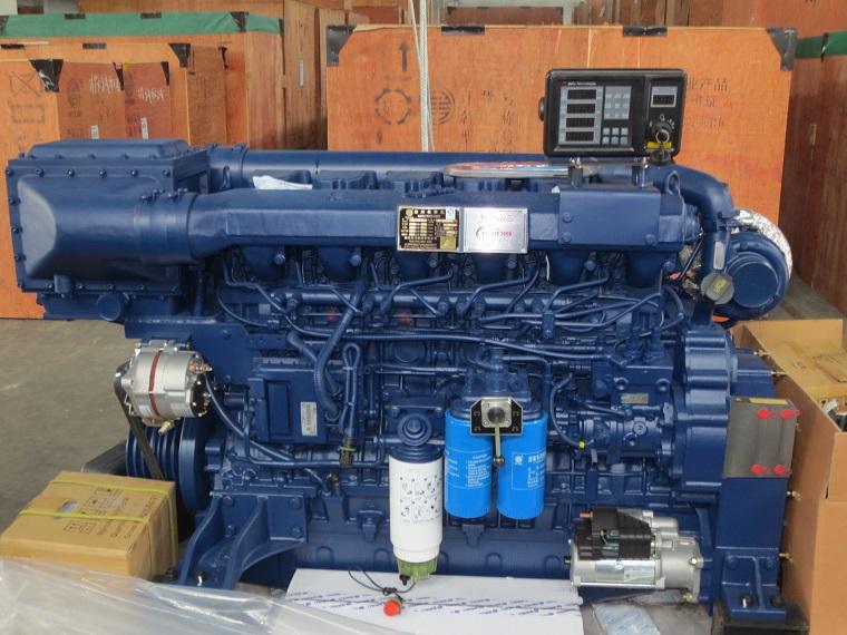 Wp12 Series Marine Engine, 368-425kw, Weichai