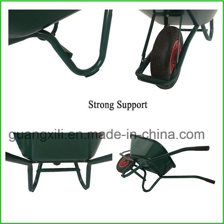 80L Tray Capacity Wheelbarrow for South America