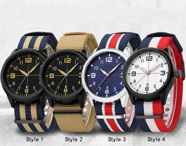 Yxl-860 Military Watch Men Fashion Casual Watches Men Wristwatch Nato Strap Sport Wrist Watch Male Clock Male Reloj
