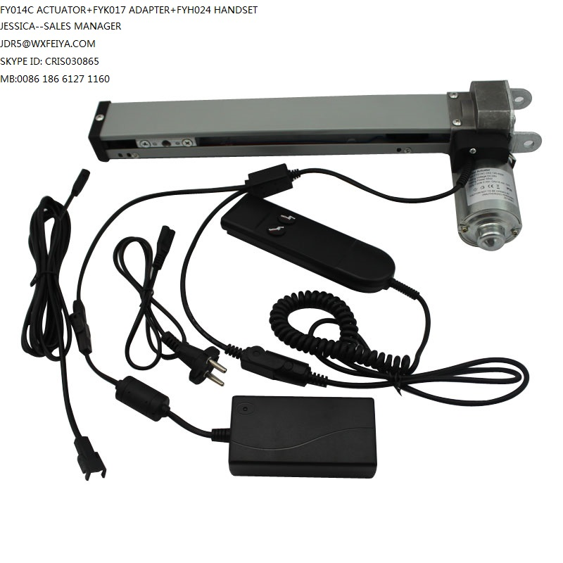 Lifting TV Fitting Parts Car, Electric Bicycle, Home Appliance Usage and CE, UL Certification Linear Actuator for Family Bed
