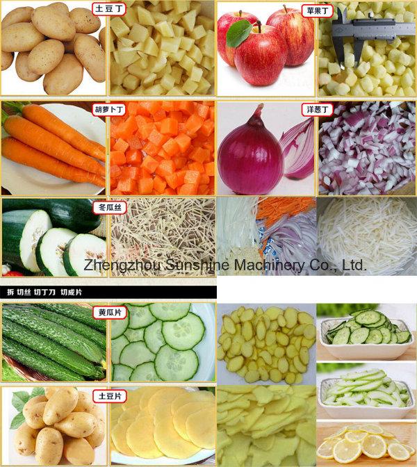 Industrial Vegetable Cutter Vegetable Cutting Machine