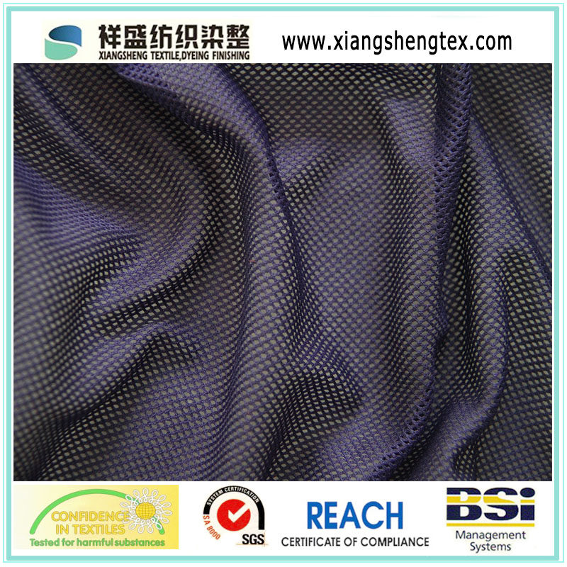 2X2 DTY Eyelet Mesh Fabric