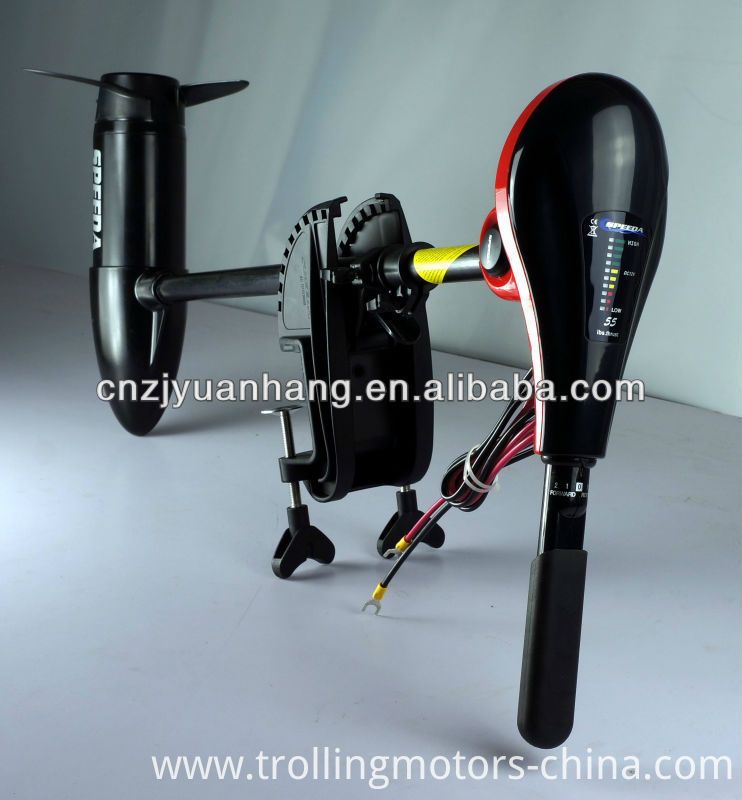 Dc12v 55lbs boat electric trolling motor outboard for sale for Electric outboard motors for sale