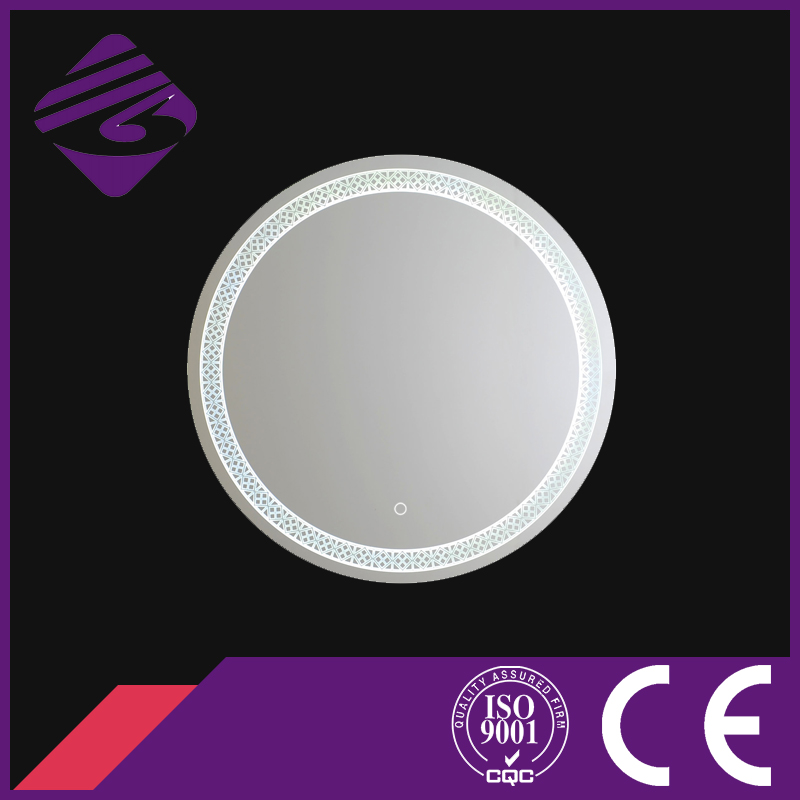 Jnh206 Makeup Wall Mirror Round Centre Pieces for Bathroom