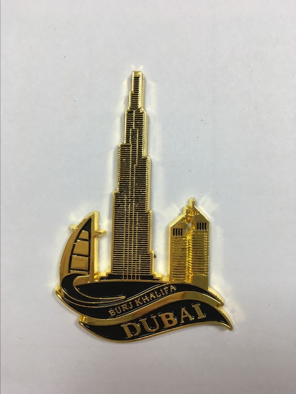 Custom Countries Metal Fridge Magnets for Dubai Souvenir Ym1069