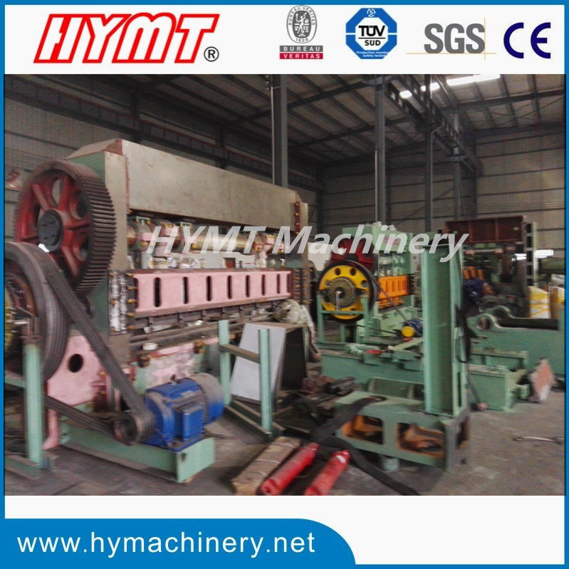 HY25-6.3T expanded metal mesh making and forming machine