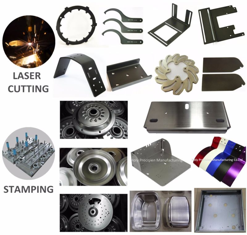 OEM Metal Plate Stamping with Machining Bending Service