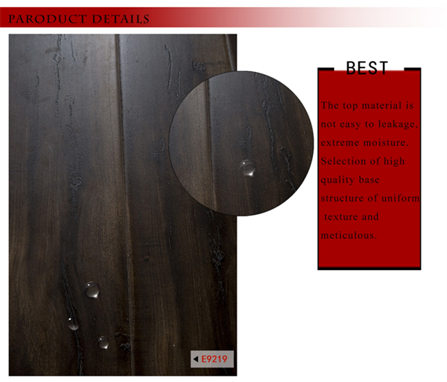 U Groove Embossed-in-Register Laminated Wood Flooring