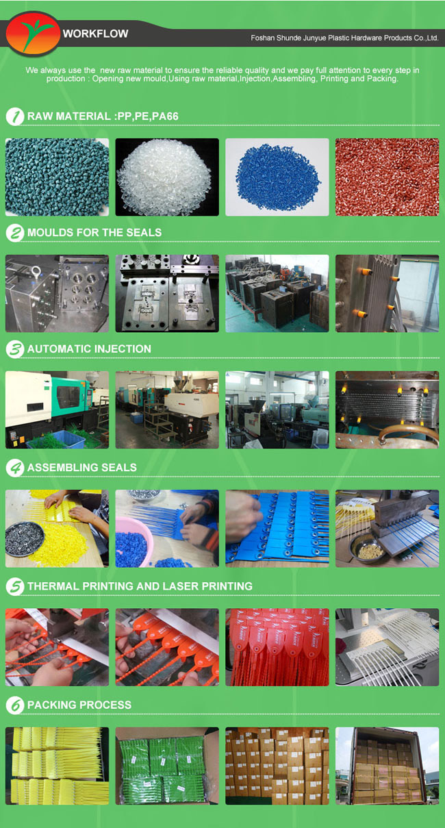 Plastic Adjustable Seals, Metal Insert Plastic Seal 300mm Long