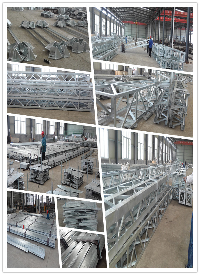 Substation Framework - Steel Structure of 1000kv Electric Substation Equipment