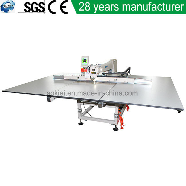 Large Format Automatic Pattern Template Sewing Machine