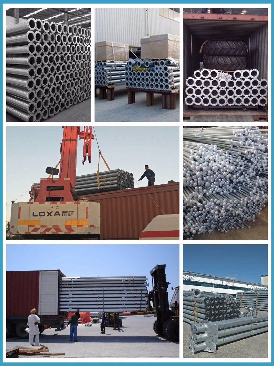 Span Pipes with Hot Dipped Galvanized Steel Used for Center Pivot Irrigation System on Sale